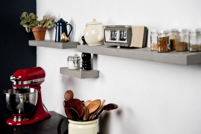 Our shelves are perfect to store every little thing inside your kitchen